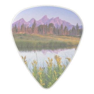 Teton Sunrise Acetal Guitar Pick