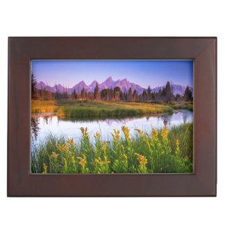 Teton Sunrise Keepsake Box