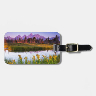 Teton Sunrise Luggage Tag