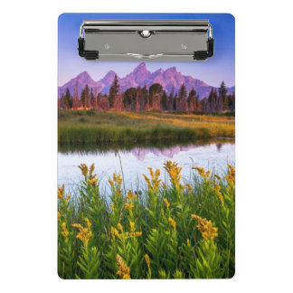 Teton Sunrise Mini Clipboard
