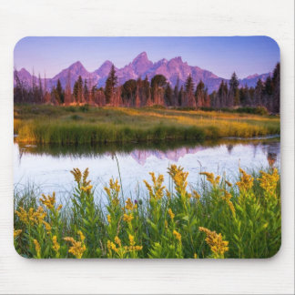 Teton Sunrise Mouse Pad