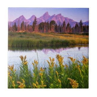 Teton Sunrise Tile