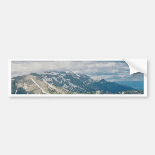 Tetons From Tramway Bumper Stickers