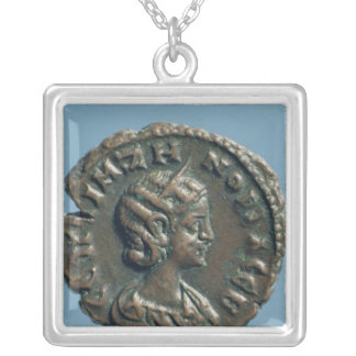 Tetrachm  of Zenobia, Queen of Palmyra Silver Plated Necklace