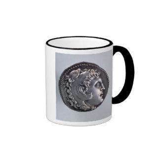 Tetradrachma depicting Alexander the Great Ringer Mug
