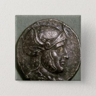 Tetradrachma of Seleucus I  King of Syria 15 Cm Square Badge