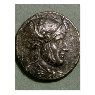 Tetradrachma of Seleucus I  King of Syria Postcard