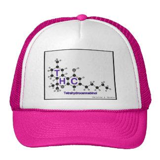 Tetrahydrocannabinol THC Trucker Hat Multi Colors