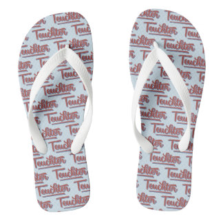 Teuchter Doric Scottish Dialect Flipflops