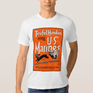 Teufel Hunden, Devil Dog Recruiting Station Tshirt