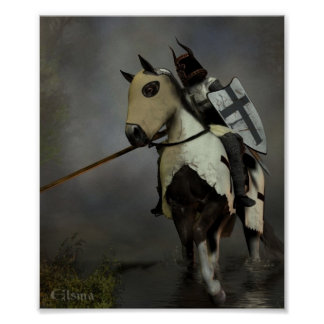 Teutonic Knight Poster