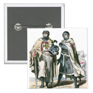 Teutonic Knights 15 Cm Square Badge