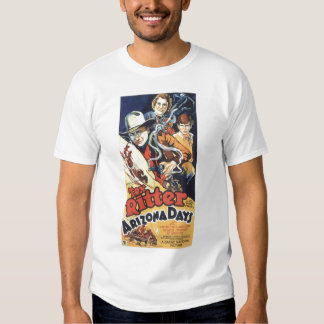 Tex Ritter 1937 vintage movie poster T-shirt