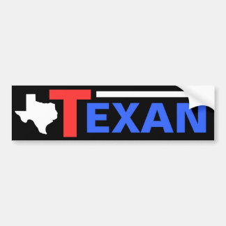 Texan Bumper Sticker