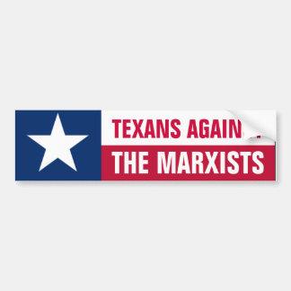 Texans vs. Marxists Bumper Sticker