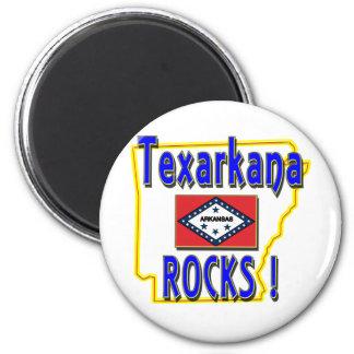 Texarkana Rocks ! (blue) Magnet