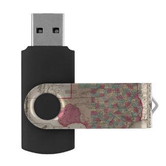 Texas 10 swivel USB 2.0 flash drive