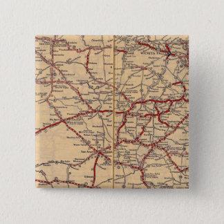Texas 11 15 cm square badge
