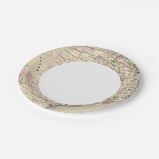 Texas 12 7 inch paper plate