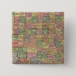 Texas 13 15 cm square badge