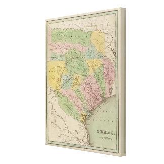 Texas 13 canvas print