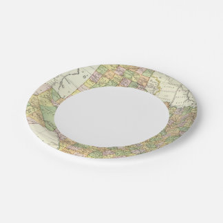Texas 15 paper plate