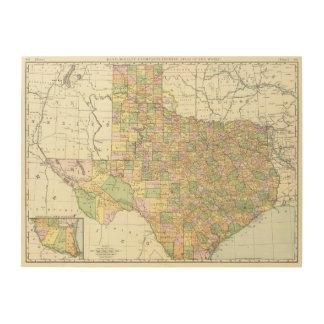 Texas 15 wood wall decor