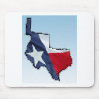 Texas 1836 mouse pad