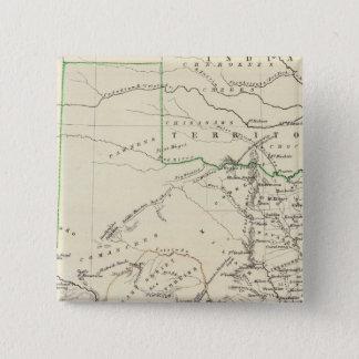 Texas 2 15 cm square badge