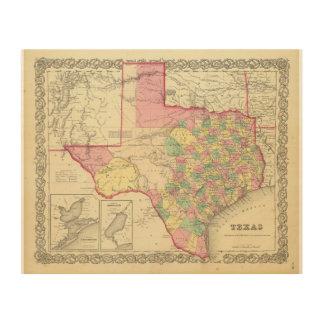 Texas 2 wood wall decor