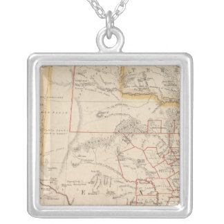 Texas 4 silver plated necklace