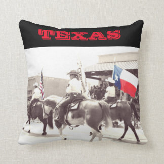 Texas  4th of July Parade Pillow