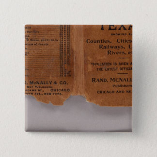 Texas 5 15 cm square badge