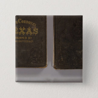 Texas 6 15 cm square badge