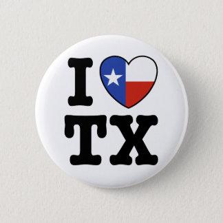 Texas 6 Cm Round Badge