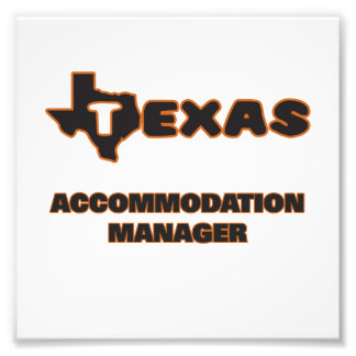 Texas Accommodation Manager Photograph