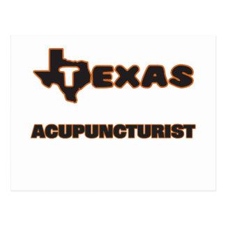 Texas Acupuncturist Postcard
