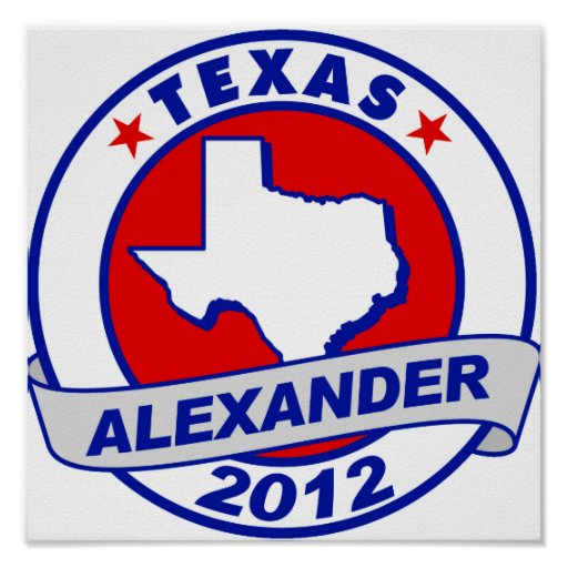 Texas Alexander Poster