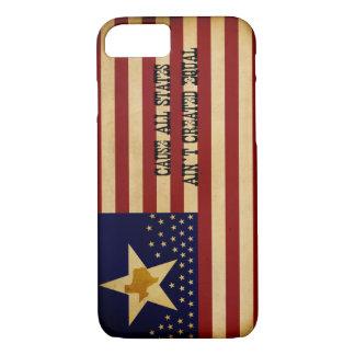 Texas / American Flag iPhone Case