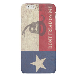 Texas and Gadsden Flag iPhone 6 Plus Case