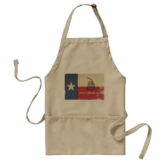Texas and Gadsden Flag Standard Apron