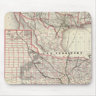 Texas and Mexico, Houston Mouse Pad