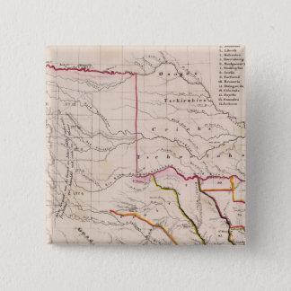 Texas and Oklahoma 15 Cm Square Badge
