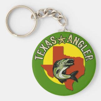 Texas Angler Key Chain