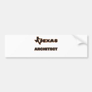 Texas Architect Car Bumper Sticker