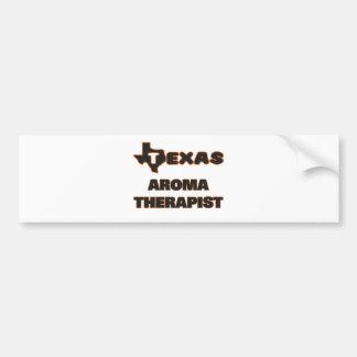 Texas Aroma Therapist Bumper Sticker