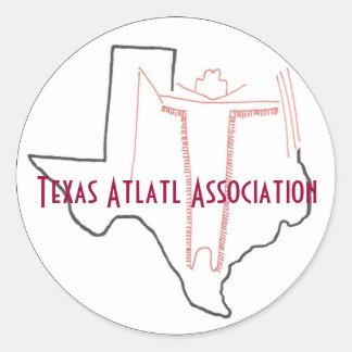 Texas Atlatl Association Sticker