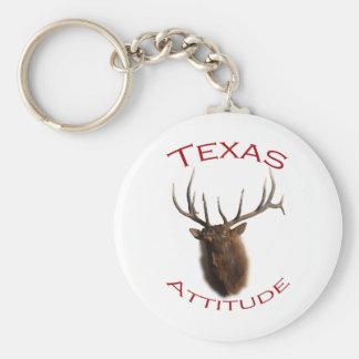 Texas Attitude Keychain