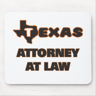 Texas Attorney At Law Mouse Pad