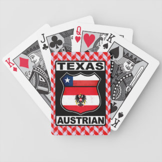 Texas Austrian American Bicycle Playing Cards
